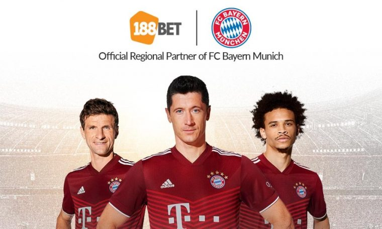 188BET become regional partner of FC Bayern in Asia