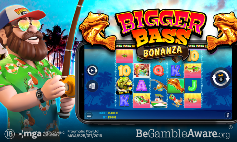 PRAGMATIC PLAY HEADS OUT TO DEEP WATERS IN BIGGER BASS BONANZA